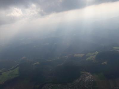 Verhüllte Berge - Der Nebel gab dem Schwarzwald einen fast schon magischen Schimmer