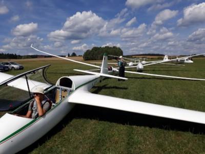 Startvorbereitung - Auch bei bestem Wetter sollte jeder Flug gut vorbereitet sein
